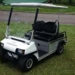 Carrinho de golfe usado à venda