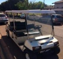 Carrinho de golfe a gasolina usado